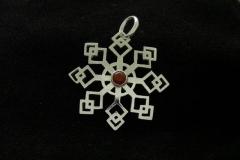 11012 Snowflake -pendant