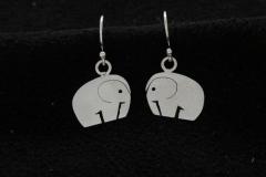 13013 Ronsu -earrings (matt)