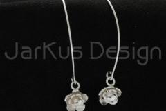 13046 Water lily -earrings v1